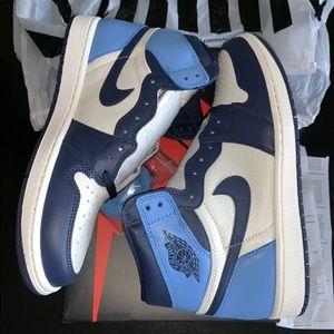 Nike Shoes | Jordan Obsidian Unc Blue Retro High Og | Poshmark